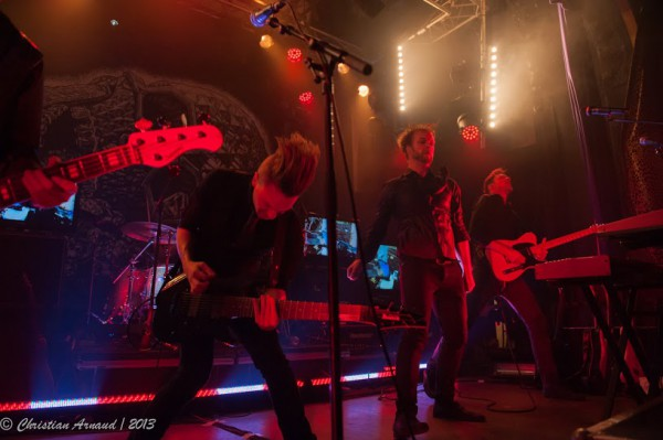 Leprous, 2013, concert, live report, Paris, Divan du monde,