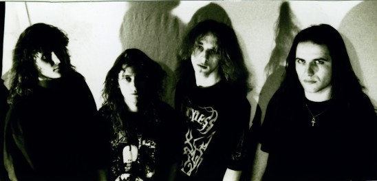 mercyless, french death metal, line-up 1991, abject offerings