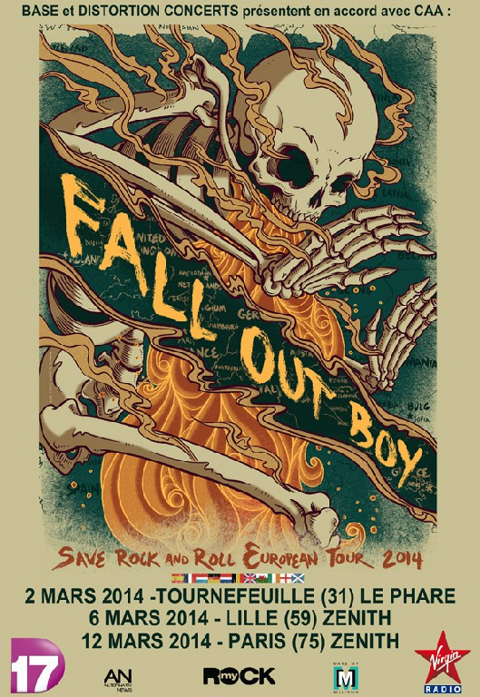 Fall Out Boys Tour 2014