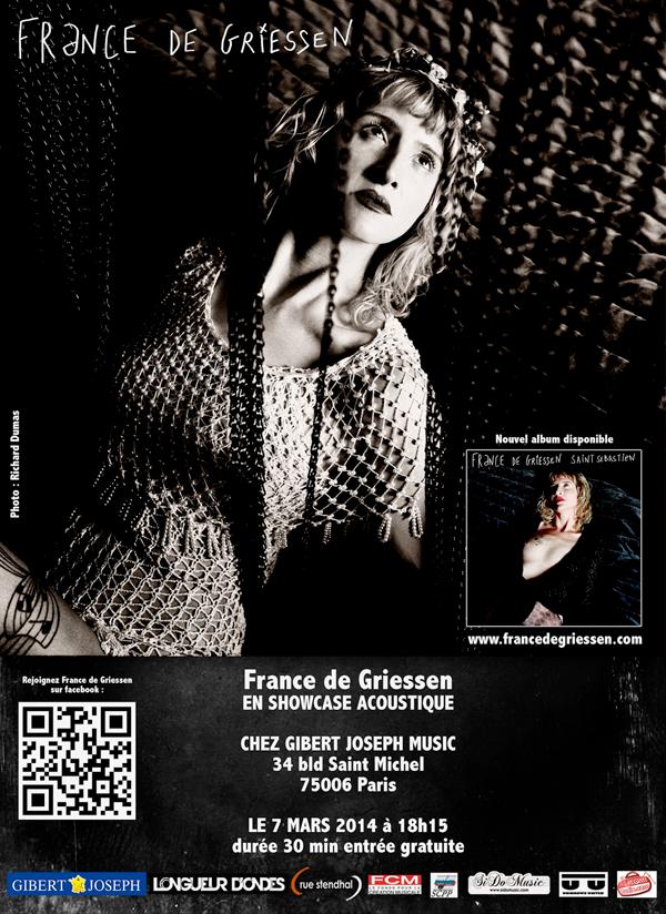 France de Griessen - showcase acoustique