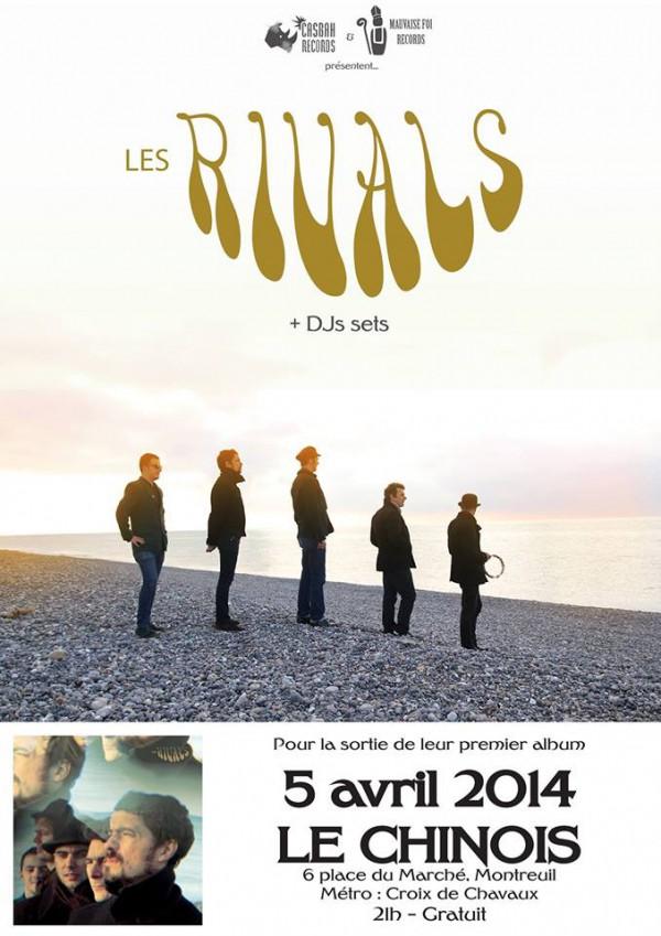 Les Rivals Release Party