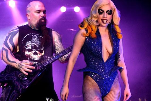 Kerry King Lady Gaga live 2014 album