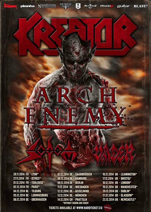 Kreator Arch Enemy