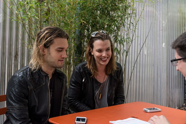 Hale brother and sister Halestorm