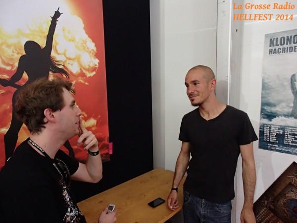 Klone Hellfest interview la grosse radio 2014
