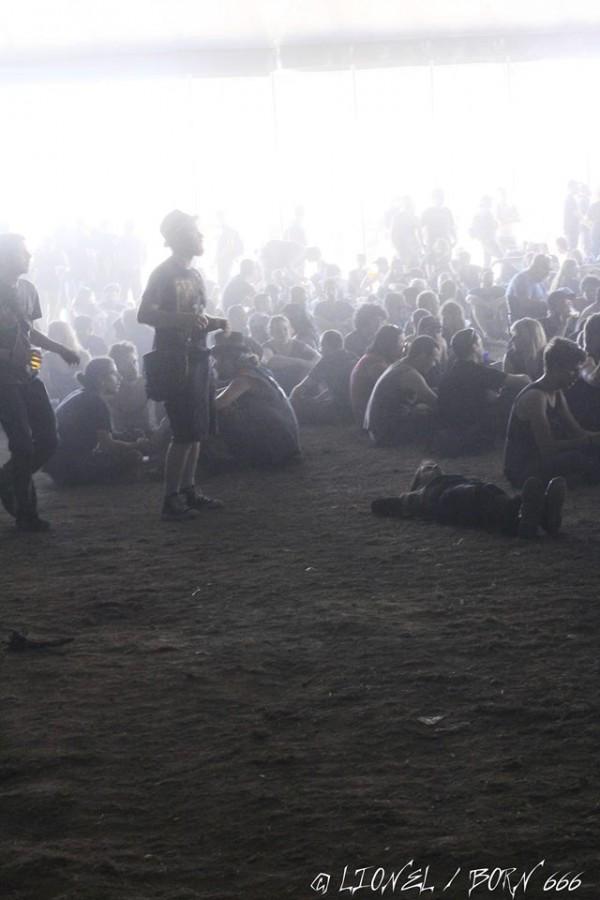Hellfest sous les tentes 2014