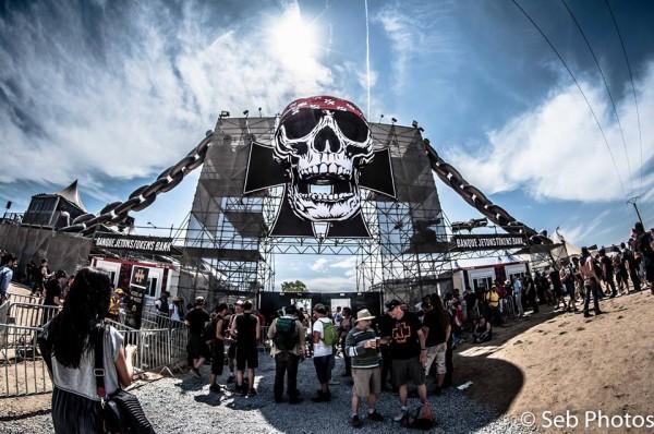 Hellfest VIP crâne 2014