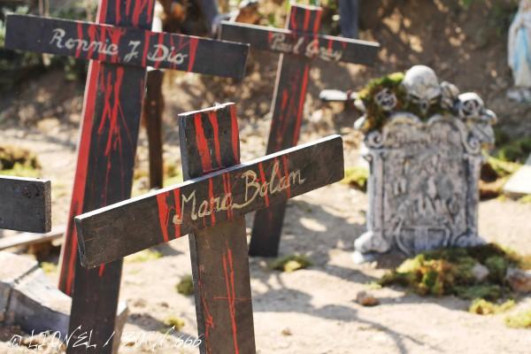 Hellfest cimetière 2014