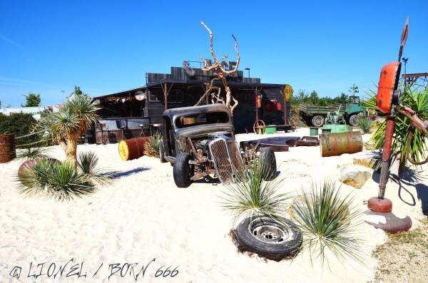 Hellfest 2014 desert voiture