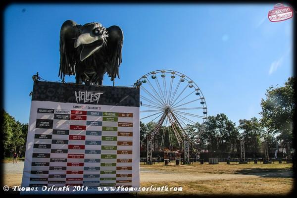 Hellfest corbeau 2014