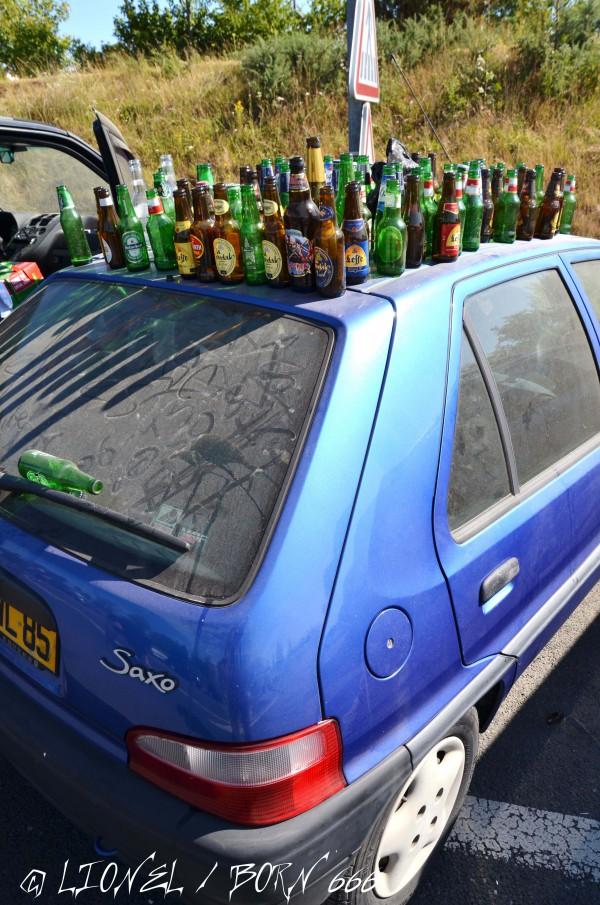 Hellfest bières voiture 2014