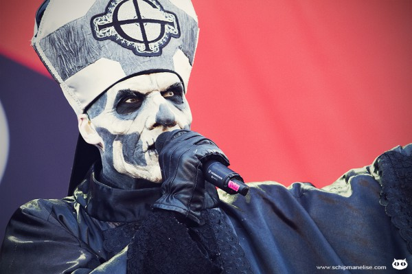 Live report, Ghost, Mainsquare 2014,