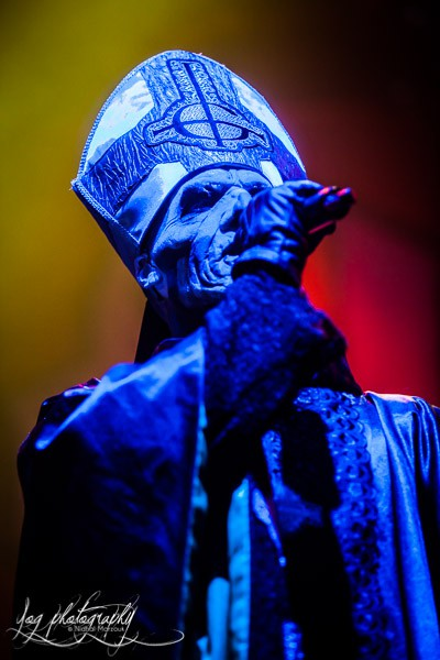 Ghost, live report, 2014, Paris,