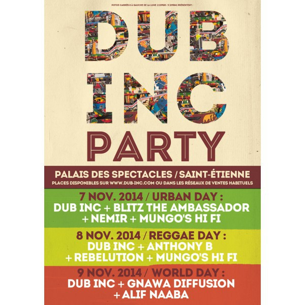 Dub Inc Party