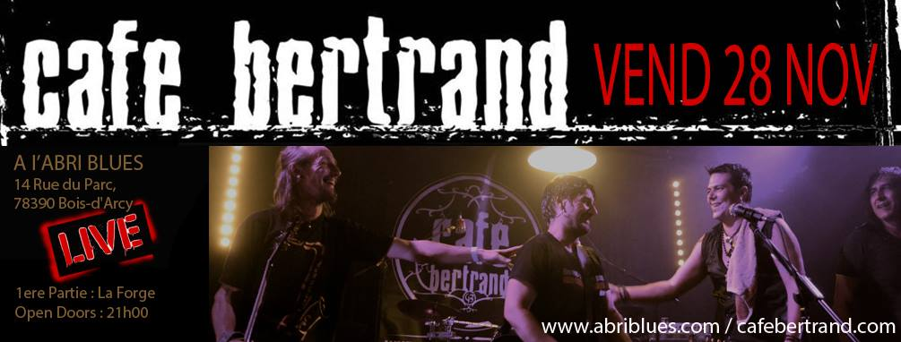 Café Bertrand Abri-Blues 28 novembre 2014