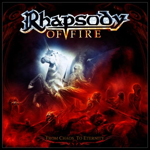 pochette rhapsody of fire from chaos to eternity