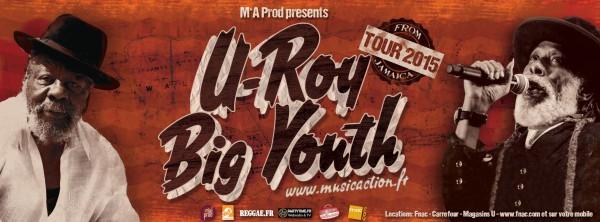 U-Roy & Big Youth au New Morning