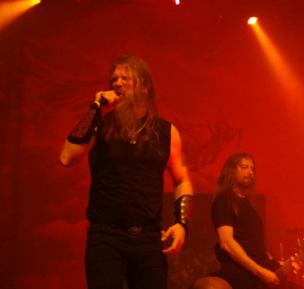 Johan Hegg, Amon Amarth, L'autre canal, metal, nancy