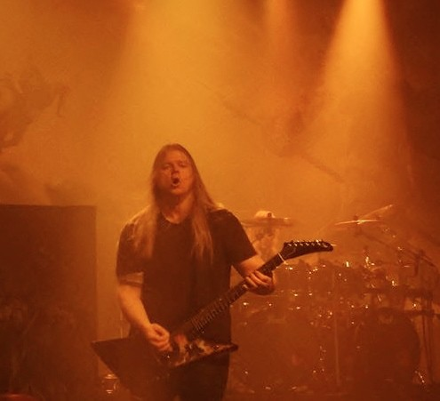 Olavi Mikkonen, Amon Amarth, Nancy, L'Autre Canal, metal