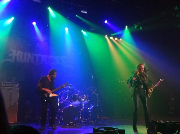 Huntress, metal, Nancy, l'Autre Canal, 04.02.2015
