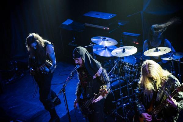 Blackdeath, live report, paris, 2015, Inquisition,
