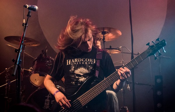 Trash heaven, live report, Paris, 2015, Ultra vomit,