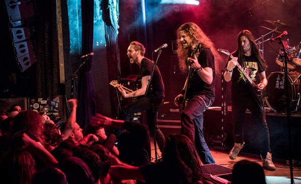 The Four Horsemen, tribute, Metallica, Paris, 2015, live report,
