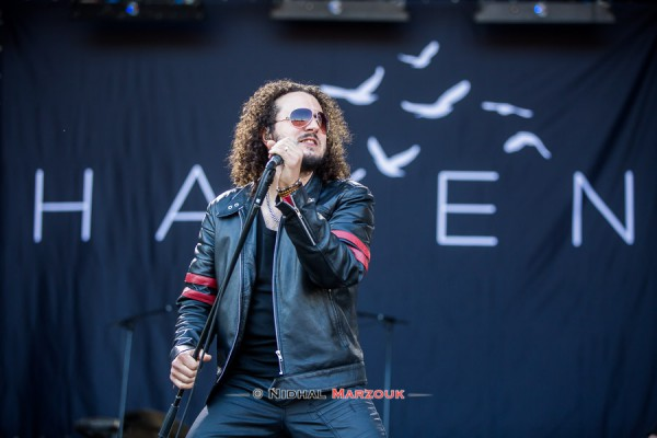 Ross Jennings, Haken, Hellfest, Mainstage 2, Progressive metal,