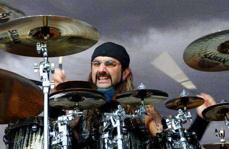 Mike Portnoy drummer Flying Colors Adrenaline Mob 2012