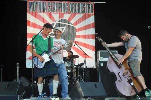 Eric Mothra Slapping Orchestra Johnny B Goode