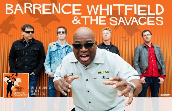 Barrence Whitfield And The Savages Tour 2015
