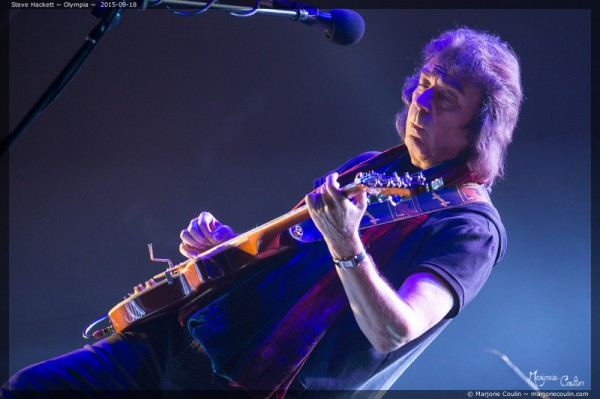 Steve Hackett, Genesis, Live report, Interview, Olympia,