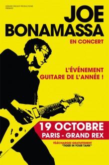 joe Bonamassa, le grand rex, guitare, rock, blues