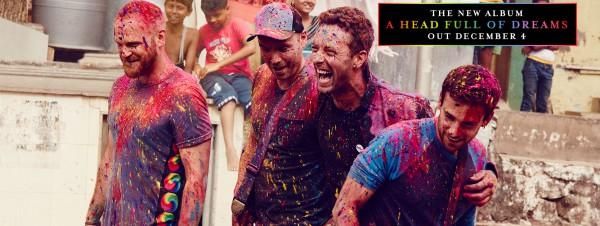 Coldplay, nouvel album, 4 décembre 2015