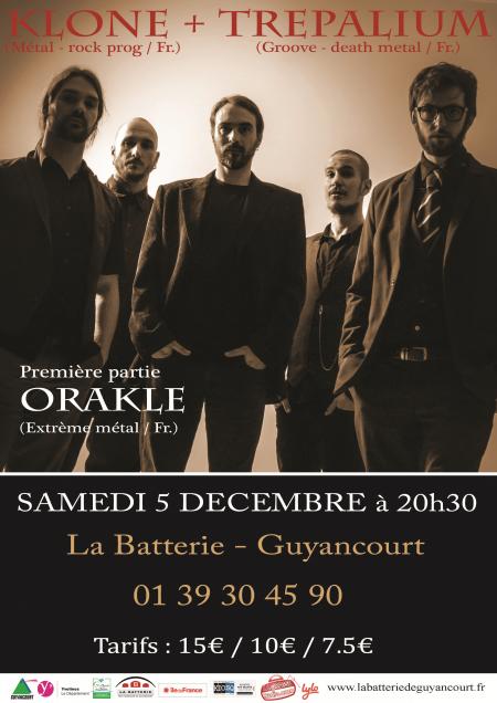 Klone, Trepalium, Orakle, La Batterie Guyancourt