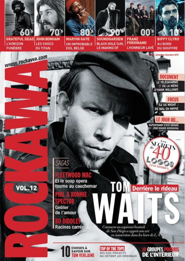 Rockawa volume 12. Tom Waits en couverture