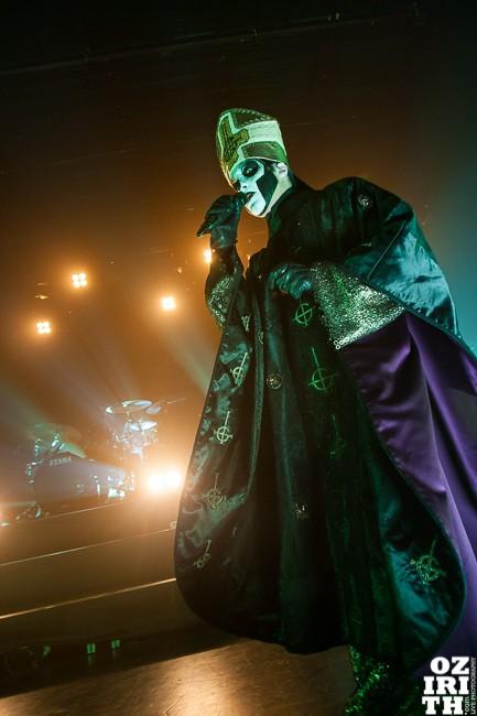 ghost, concert, lyon, papa emeritusIII, 2015
