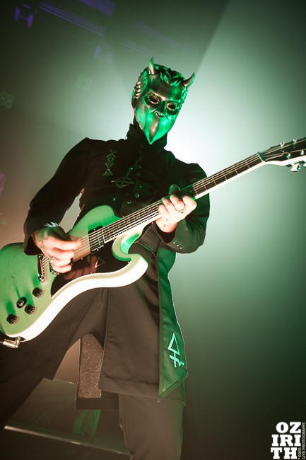 ghost, concert, lyon, fire ghoul, 2015