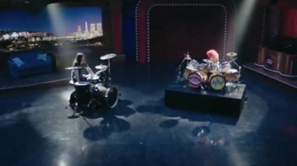 battle, batterie, Grohl, Foo Fighters, muppets