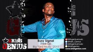 busy signal, cold heart riddim, free up, marcus garvey, barack obama