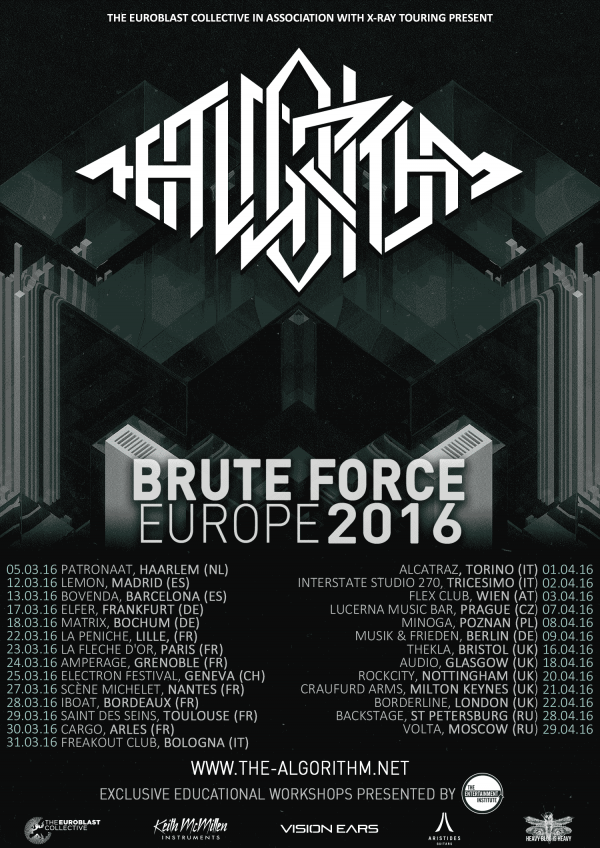 The algorithm, remi gallego, jean ferry, 2016, brute force, european tour,