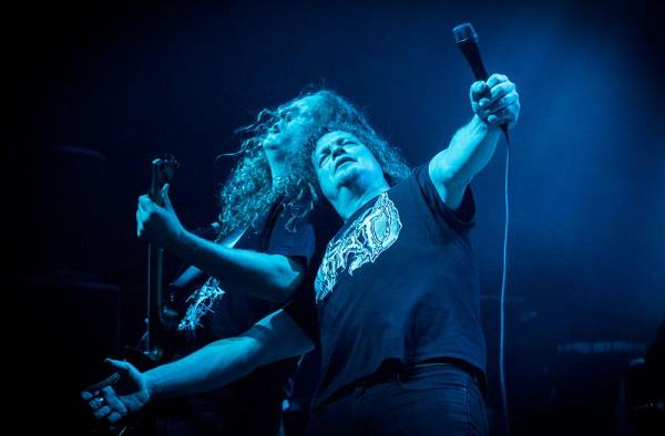 Voivod, Snake, Chewy, Metal, Cigale, Paris, Deathcrusher tour,