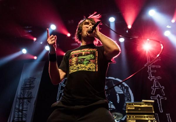 Napalm Death, Barney, Grind, Deathcrusher tour, Paris, Cigale, metal