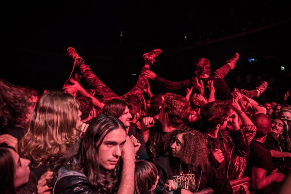 Death Metal, Cigale, Stage diving, Thrash, Death, Deathcrusher tour,