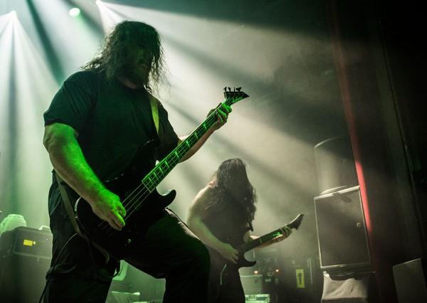 Obituary, Tardy, Butler, Cigale, Deathcrusher tour, Metal, Paris,