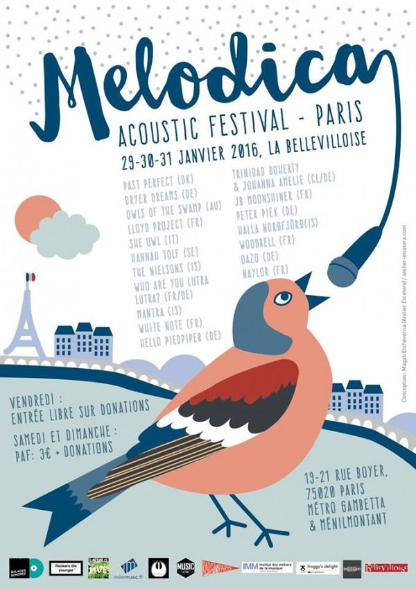 Melodica Acoustic Festival Paris