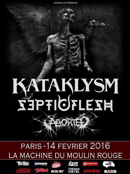 Kataklysm, Paris, 14.02.16