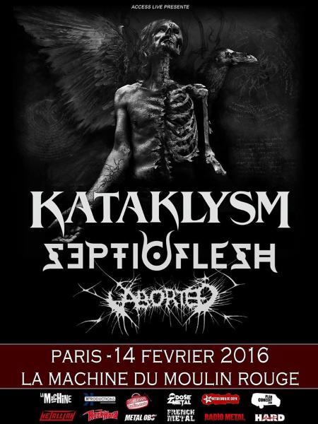 Kataklysm, Paris, 14.02.16