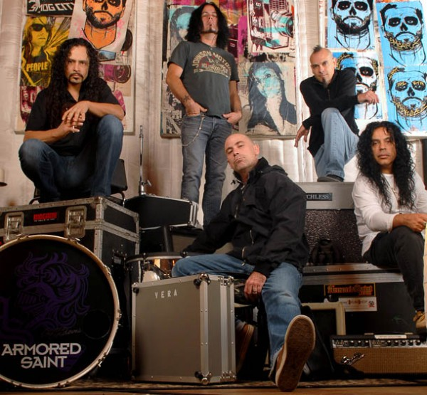 Armored Saint line-up actuel