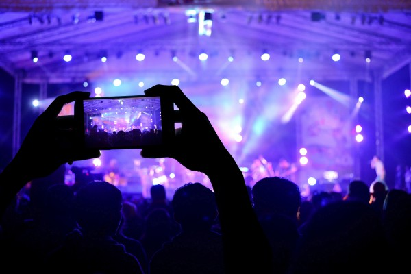 mobiles, concert, live, telephone, nuisance, smartphone, photos